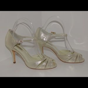 Benjamin Adams Bridal Shoes NEW 6M